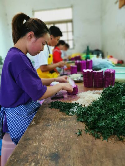 Artificial Flower Making Process